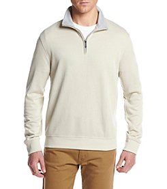 Van Heusen® Men's Spectator Heather Quarter Zip Pullover