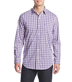 Izod® Men's Long Sleeve Advantage Plaid Button Down Shirt