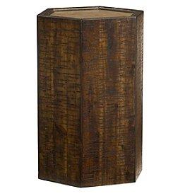 Hammary® Hidden Treasures Wood Hex Table