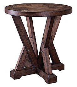 Broyhill® Bedford Avenue Myrtle Round End Table