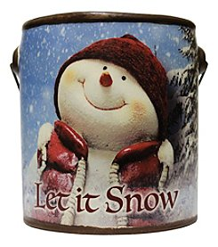 A Cheerful Giver Farm Fresh Collection 20-oz. Let It Snow Candle