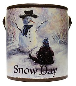 A Cheerful Giver Farm Fresh Collection 20-oz. Snow Day Candle