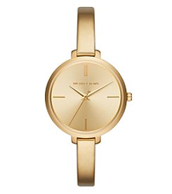 Michael Kors® Women's Jaryn Goldtone Three Hand Watch