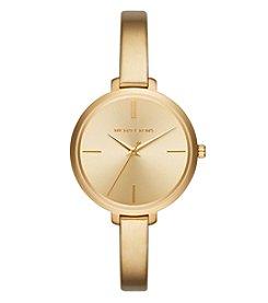 Michael Kors® Women's Jaryn Goldtone Three Hand Watch