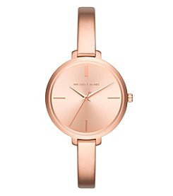 Michael Kors® Women's Jaryn Rose Goldtone Three Hand Watch