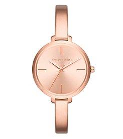 Michael Kors® Women's Jaryn Rose Goldtone Three Hand Watch