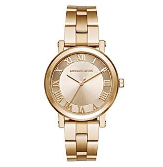 Michael Kors® Women's Norie Goldtone Three Hand Watch