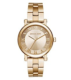 Michael Kors® Women's Norie Goldtone Three Hand Watch