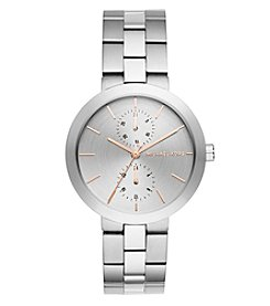 Michael Kors® Women's Silvertone Garner Stainless Steel Multifunction Watch