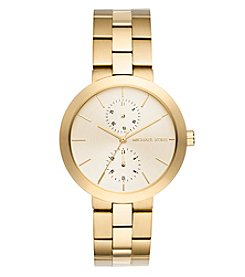 Michael Kors® Women's Garner Goldtone Multifunction Watch