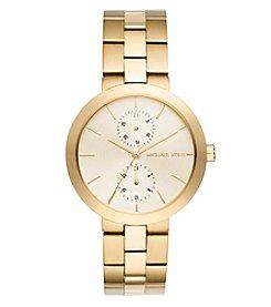 Michael Kors® Women's Garner Goldtone Multifunction Watch