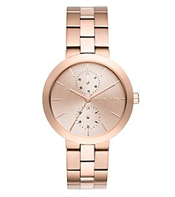 Michael Kors® Women's Garner Rose Goldtone Multifunction Watch