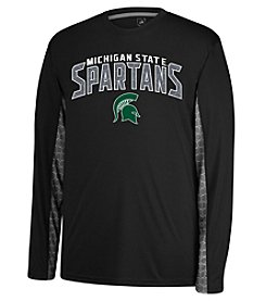 J. America® NCAA® Michigan State Spartans Men's Sideline 2 Long Sleve Tee
