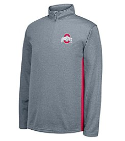 J. America NCAA® Ohio State Buckeyes Men's First Down 1/4 Zip Pullover
