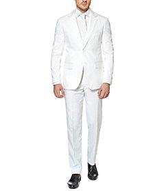 OppoSuits Men's White Knight Suit