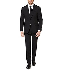 OppoSuits Men's Black Knight Suit