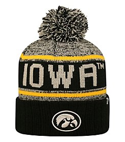 Top of the World® NCAA® Iowa Hawkeyes Men's Acid Rain Pom Knit Hat