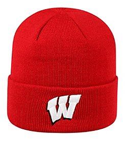 Top of the World® NCAA® Wisconsin Badgers Men's Tow Cuff Pom Knit Hat