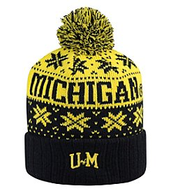 Top of the World® NCAA® Michigan Wolverines Men's Subarctic Knit Hat