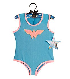 DC Comics® Wonder Woman Child Leotard with Puff Hanger