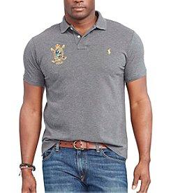 Polo Ralph Lauren® Men's Big & Tall Equine Short Sleeve Polo Shirt