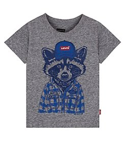 Levi's® Baby Boys' Short Sleeve Raccoon Tee