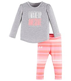 Under Armour® Baby Girls' 2-Piece Wake Up Awesome Set
