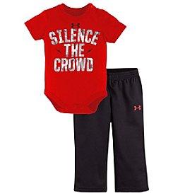 Under Armour® Baby Boys 2-Piece Silence The Crowd Bodysuit Set
