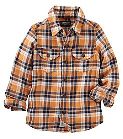 OshKosh B'Gosh® Boys' 2T-7 Long Sleeve Plaid Shirt