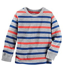 OshKosh B'Gosh® Boys' 2T-7 Long Sleeve Striped Thermal Tee