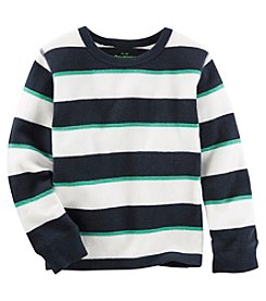 OshKosh B'Gosh® Boys' 4-7 Long Sleeve Striped Thermal Tee
