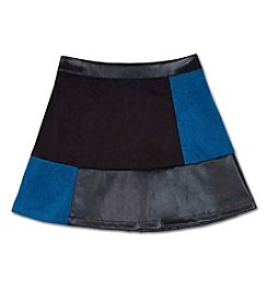 Amy Byer Girls' 7-16 Colorblock Skirt