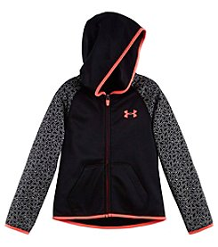 Under Armour® Girls' 2T-6X Chain Grid Shimmer Hoodie