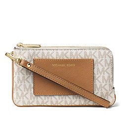 MICHAEL Michael Kors® Bedford Medium Double Zip Wristlet