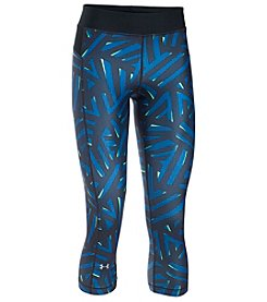 Under Armour® Geometric HeatGear® Capri
