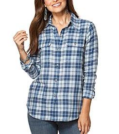 Chaps® Long Sleeve Plaid Twill Workshirt