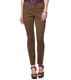 Chaps® Twill Skinny Pants