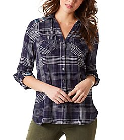 Vintage America Blues™ Double Cloth Plaid Top