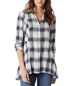 Vintage America Blues™ Ries Plaid Top