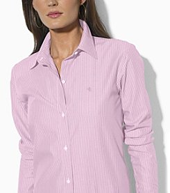 Lauren Ralph Lauren® Wrinkle-Free Cotton Dress Shirt