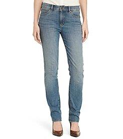 Lauren Ralph Lauren® Slimming Straight Jeans