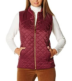 Rafaella® Silky Quilted Vest