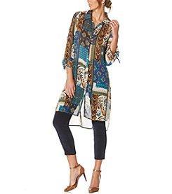Rafaella® Printed Woven Tunic