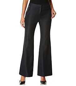 Rafaella® Wide Leg Career Pants With Zipper