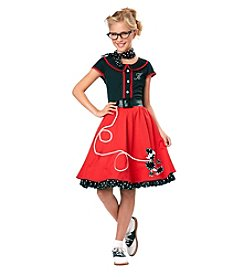 50s Sweetheart Child Costume