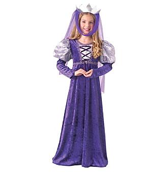 Renaissance Queen Child Costume