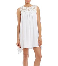 Trixxi® Illusion Lace Tank Dress