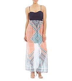 Trixxi® Crochet Spaghetti Strap Dress