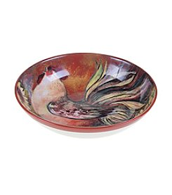 Certified International by Susan Winget Sunflower Rooster Serving/Pasta Bowl