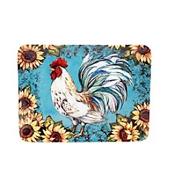 Certified International by Susan Winget Sunflower Rooster Rectangular Platter